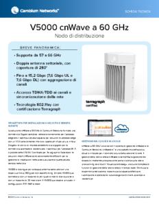 V5000 cnWave a 60 GHz