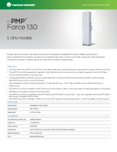 ePMP Force 130 5GHz