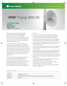 ePMP Force 300-25