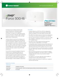ePMP Force 300-16