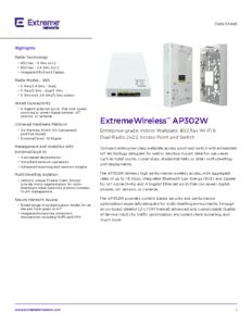 AP302W Data Sheet