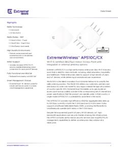 AP510C/CX Data Sheet