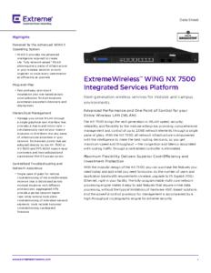 NX 7500